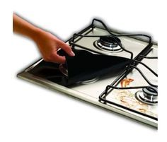 gas hob protectors 4 pack BLACK