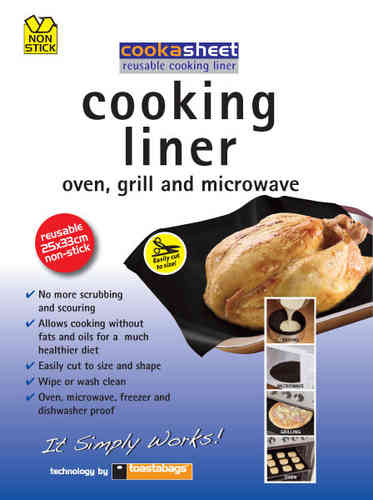 cooking liner - black