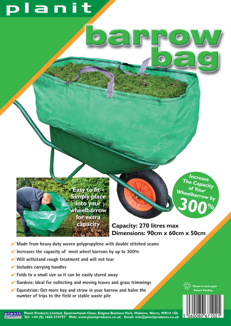 BARROW BAG - 270L Heavy Duty Barrow Bag