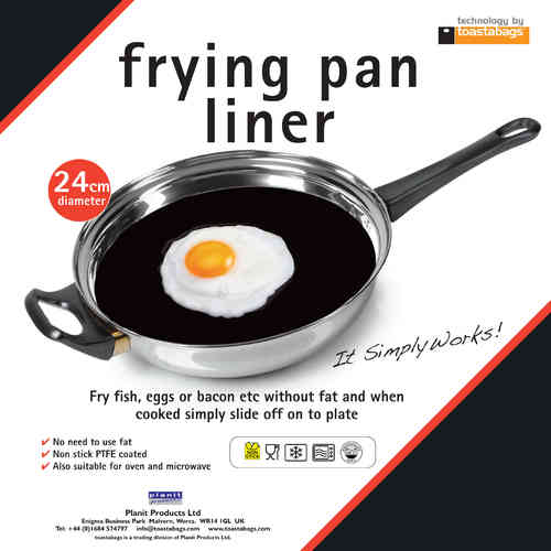 Frying Pan Liner - Heavy Duty