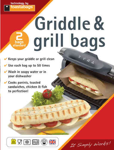 Panini Grill Bags - perfect for griddles