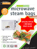 microwave steam bags 200pk medium-super value pack